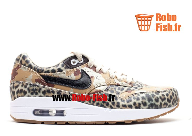 """Nike Air Max 1 Prm """"Atmos"""" - Chaussure Nike Running Pas Cher Pour Homme 454746-902"""