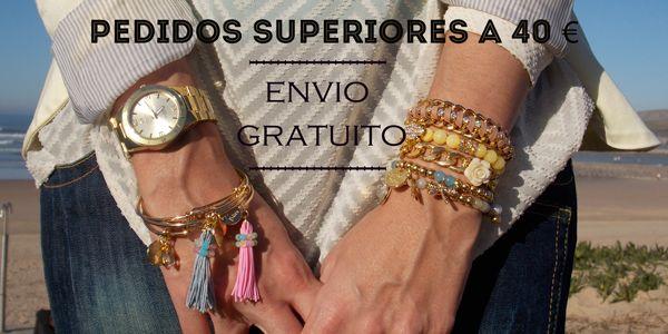 ❤ Envío gratuito a partir de 40 € ❤ #pulseras #ByNeskaPolita #bracelets #complementos #primavera #tendencia