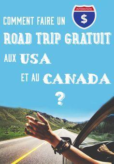 Comment faire un road trip aux USA et au Canada gratuitement ? Cliquez ici pour tout savoir, et préparez votre futur voyage : http://www.passionamerique.com/road-trip-gratuit-canada-usa/