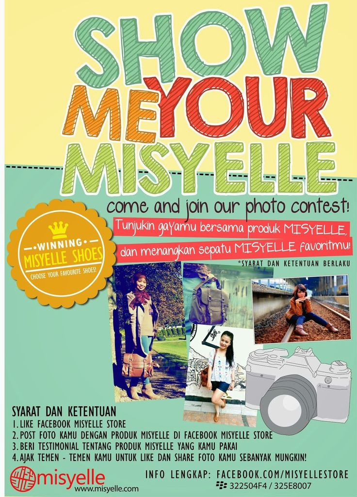 Wear Misyelle product and show to us. Proud with !