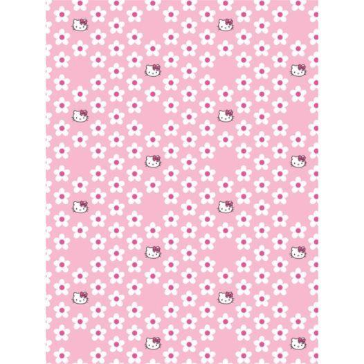 Disney - Hello Kitty Tapeter - Små Blommor