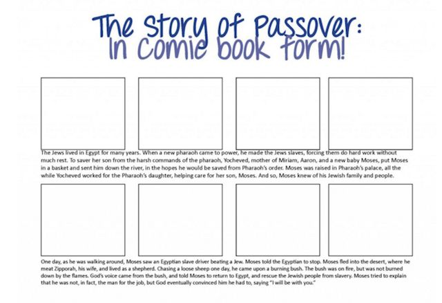 Design your own Passover Haggadah with these online resources