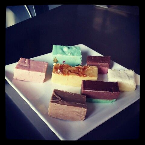 A selection of fudge