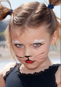 halloween face makeup ideas easy diy kids face painting little mouse