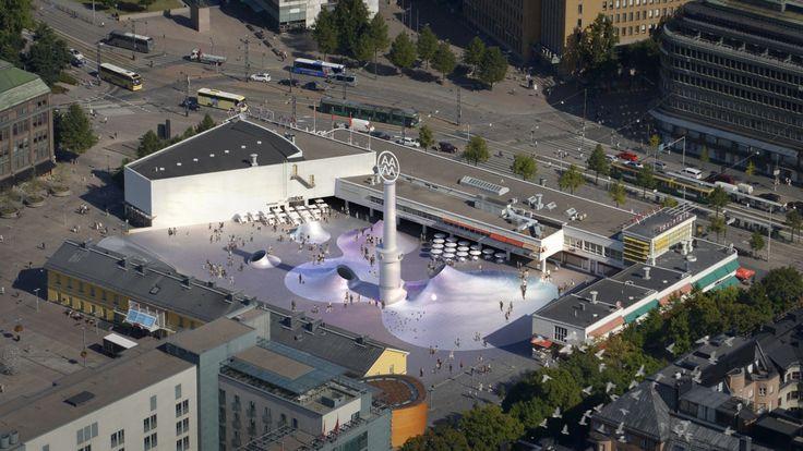 I samband med byggandet av nya Amos Andersons konstmuseum i Helsingfors ska också Glaspalatset få en ansiktslyftning. Förutom konstmuseet ska Glaspalatset och biosalongen Bio Rex bli en del av det nya kulturcentret.