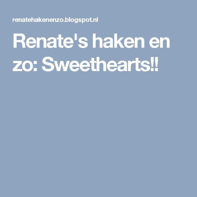 Renate's haken en zo: Sweethearts!!