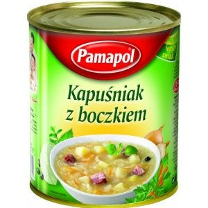 Pamapol Cabbage Soup with Bacon - Kapusniak 780 g (Pack of 3): Amazon.co.uk: Grocery