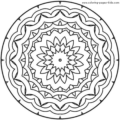 125 best MANDALAS images on Pinterest Coloring books Mandala