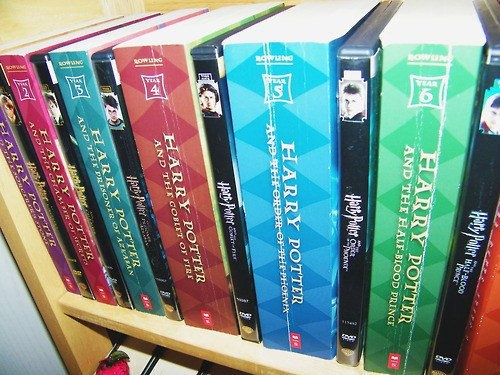 Harry Potter books and movies