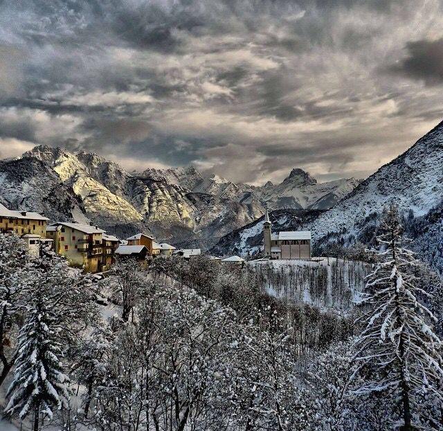 Valle di Cadore . Dolomiti . Foto di Frol .