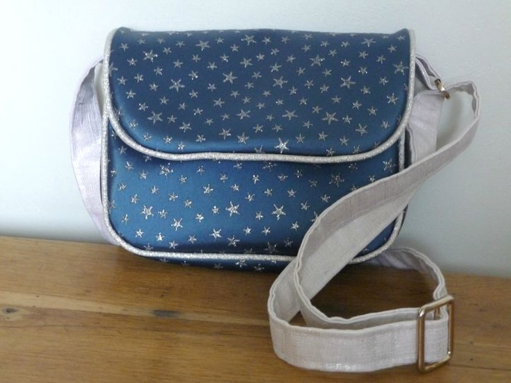 handbag with link to tutorial by Les Boutiqueuses (sac avec lien vers tuto)