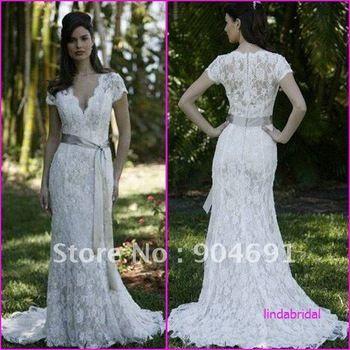 http://i00.i.aliimg.com/wsphoto/v0/1253560360_1/V-Neckline-Lace-Bridal-Gown-White-Satin-Short-Sleeves-Wedding-Dress-Sheath-Chapel-Train-Bridal-Dress.jpg_350x350.jpg
