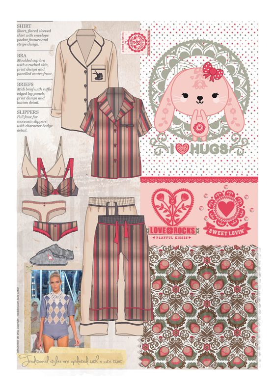 MPDClick :: Global Fashion Intelligence :: trends :: a/w13/14: reflective intimates, lounge & sleepwear - female