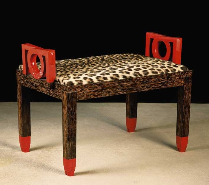 Attractive A Gustave Miklos Stool From YSL/Pierre Berge Auction   Christies.