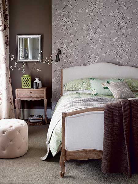 We're loving these muted, dusky tones. They look fab with our Antoinette bed!