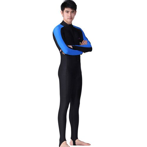 Diving Wetsuit Scuba Snorkeling Suit Rashguard Long Sleeve Swimwear UPF 50+ Surf