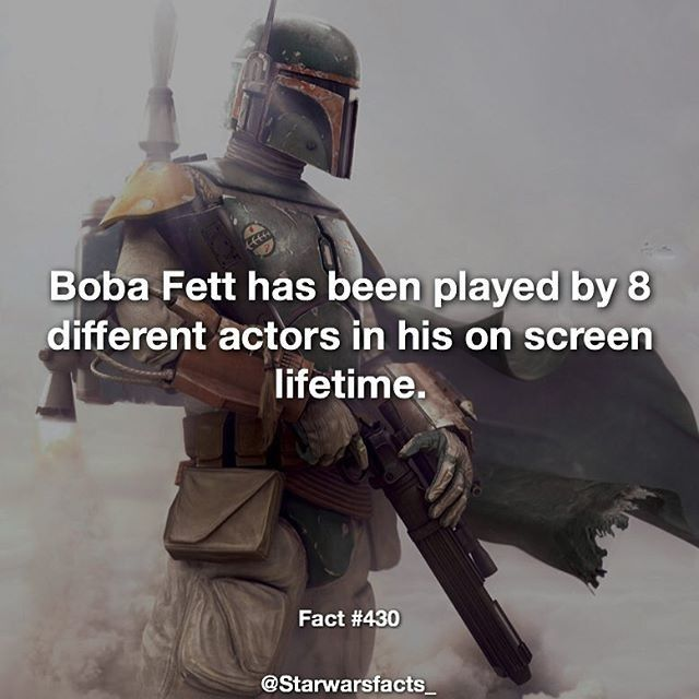Follow for more #geektent all day everyday!  Another #awesome #StarWars fact guys!  repost @starwarsfacts_  Jeremy Bulloch played Fett through most of the characters on screen life. When he missed filming for a single day stuntman John Morton filled in while Jason Wingreen provided his voice. For the special editions he was later dubbed by Temeura Morrison the actor who played Jango Fett in the prequels. On the subject of the special editions George Lucas needed more Fett footage but they…
