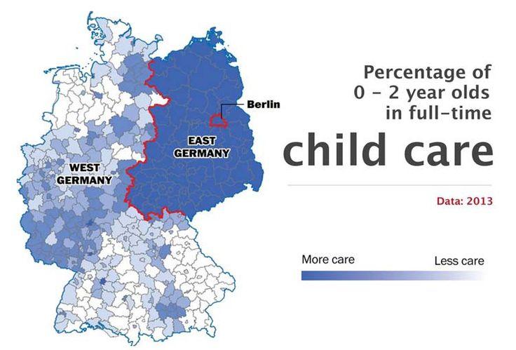 Guarderías - 10 hechos que demuestran que Alemania sigue dividida - Planificamos tu viaje