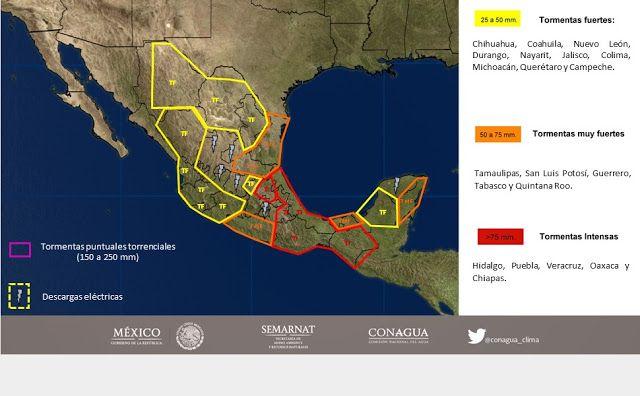 Periodismo sin Censura: Pronóstico Meteorológico General  04 de Octubre de...