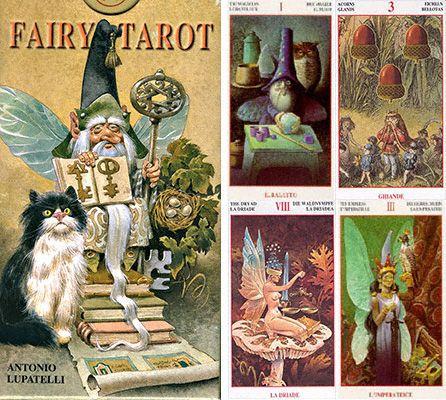 Tarot Lesních víl - velký výběr tarotů a vykládacích karet