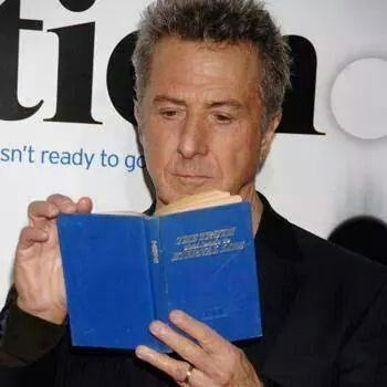 Dustin Hoffman reading the Truth book ... the book that changed millions of lives !!