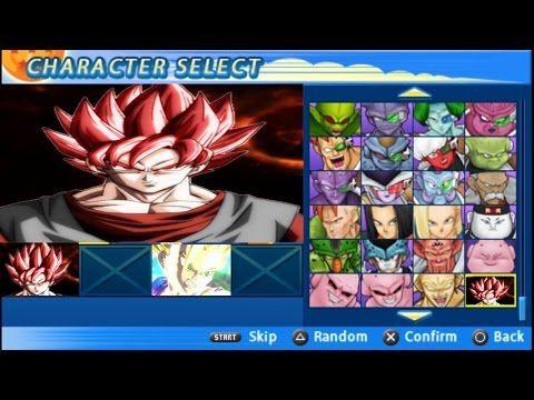 Evil Goku God Red Vs Teen Gohan SSJ 2 Fight | DBZ Tenkaichi Tag Team V18...