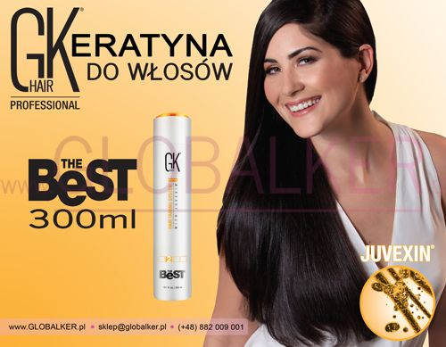 Keratyna do włosów GK Hair The Best 300ml Global Keratin Juvexin Warszawa Sklep #no.1 #globalker http://globalker.pl/keratyna-do-zabiegow/80-gk-hair-keratyna-the-best-300ml-global-keratin.html