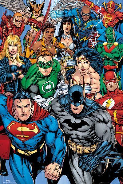 DC Comics poszter