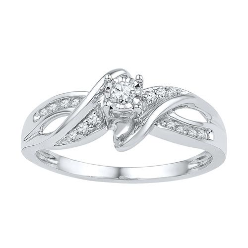 fred meyer jewelers 1 8 ct tw promise ring