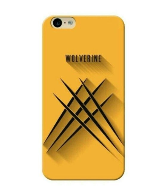 Shopo.in : Buy Yellow Wolverine Hard Phone Cover online at best price in Mumbai, India
