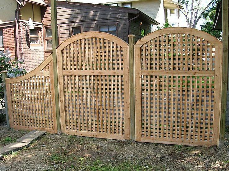 1000 ideas about lattice fence on pinterest fencing for Lattice panel privacy screen