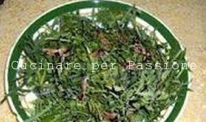l' insalata del Furlo o delle Mandrelle