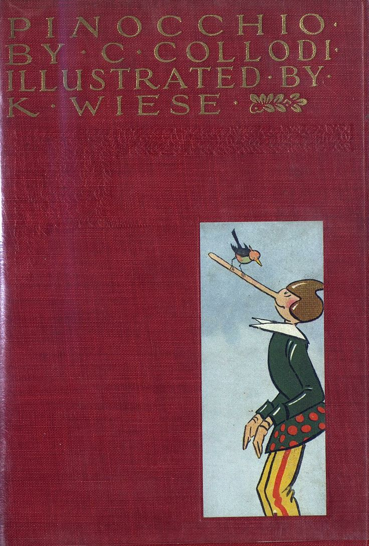 Pinocchio illustrated by Wiese