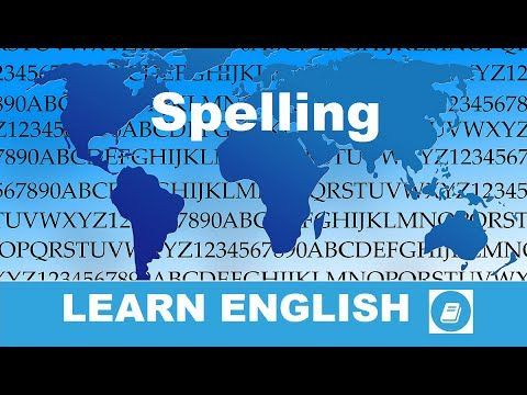 English Course – Lesson 1: Spelling Exercise 1 - E-Angol