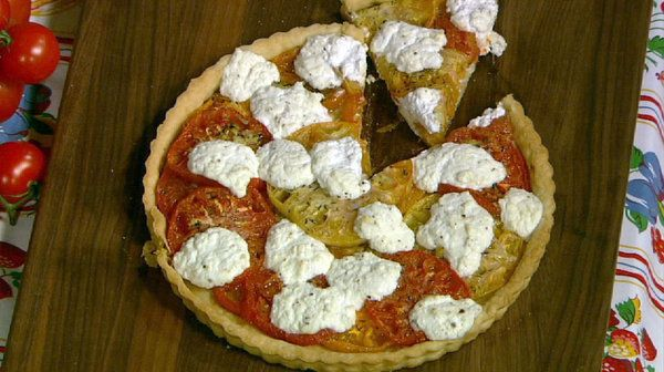 heirloom tomato tart heirloom tomatoes michael symon michael o keefe ...
