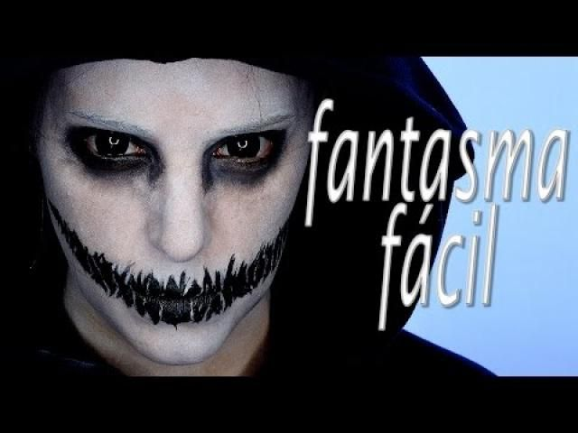 Comparte Manualidades - Maquillaje de fantasma