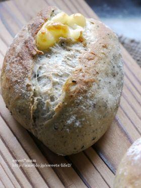 「ホームベーカリーde黒ごまチーズクッペ」satomi* | お菓子・パンのレシピや作り方【corecle*コレクル】
