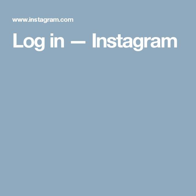 Log in — Instagram