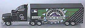 Colorado Rockies White Rose '99 Tractor Trailer