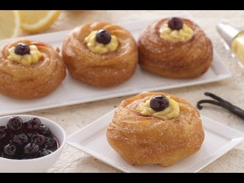 Zeppole di San Giuseppe ~ Not English But Worth Watching Technique