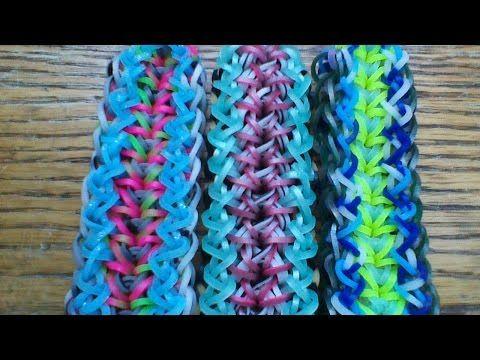 NEW Rainbow Loom Helena Bracelet - YouTube