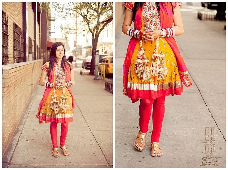 Chura Choora Ceremony In New York Indian Wedding Photographer Syphotography