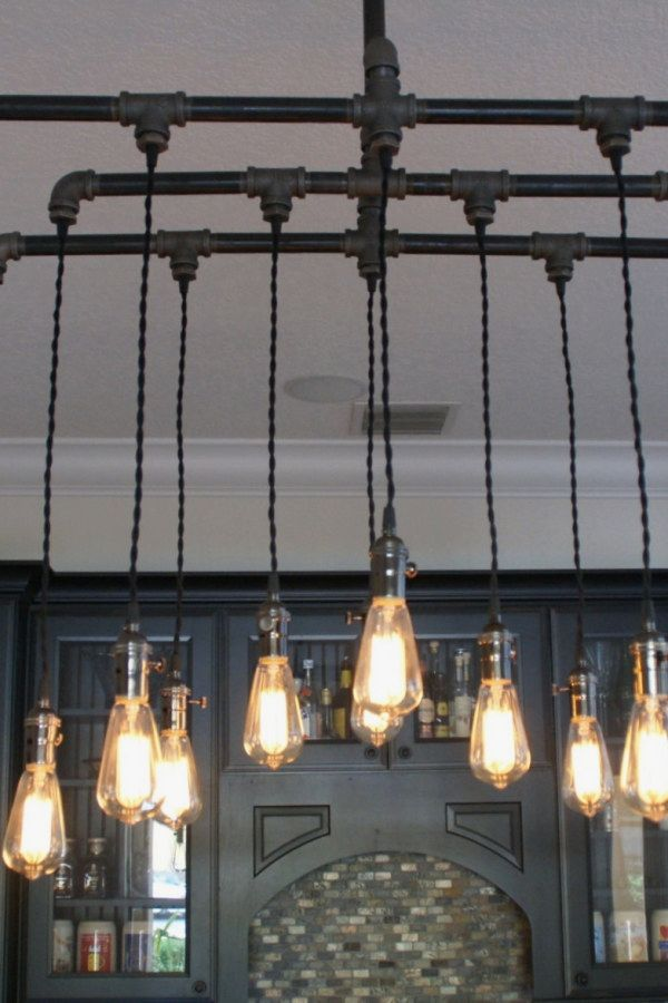 Awesome Industrial Style Lighting Fixture Plans To Complete Your