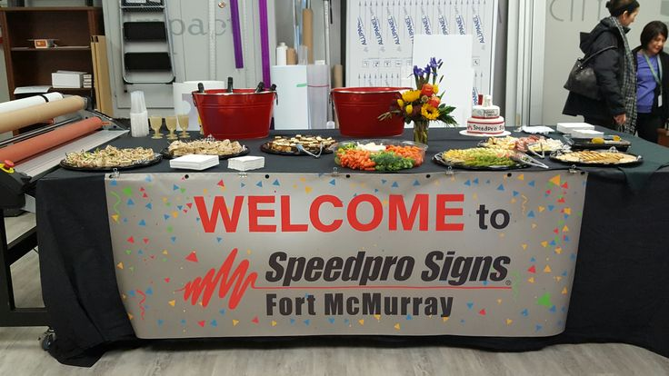 Speedpro Signs Fort McMurray Grand Opening Event!