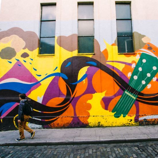 Dublin Street Art #LoveDublin #Art #Street #Urban #Colour