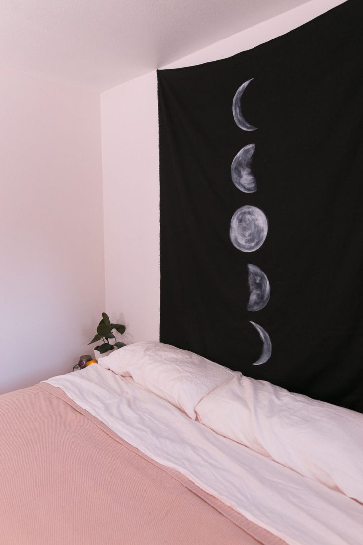 Mr. Kate DIY:  Phases of the moon tapestry