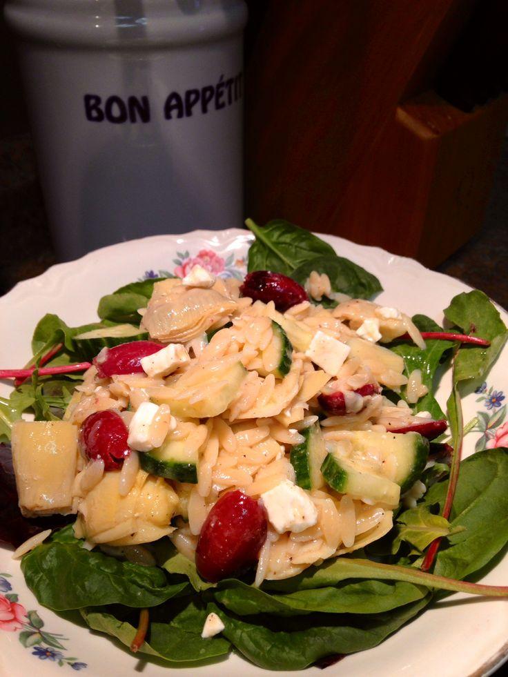 Zoe S Kitchen Orzo Salad Recipe