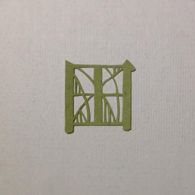【田】field/rice field #463 #72pt #漢字 #切り絵 #papercut #彩文字 #田 #field #rice_field #文様 #縞 昔は、桜が満開になると田植えや種蒔きの合図🌸 とされていたようで、「田打桜」や「種蒔き桜」「田植え桜」などの言葉が残っているそうです(*^^*)