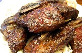 Too good for words. Pulehu Short Ribs. A plan ahead dish as this requires overngiht marinating. A go to recipe for that authentic taste of pulehu ribs. Get beefy thick short ribs if possible. This recipe works well with chicken, pork ribs, boneless pork or nay type of beef ribs.