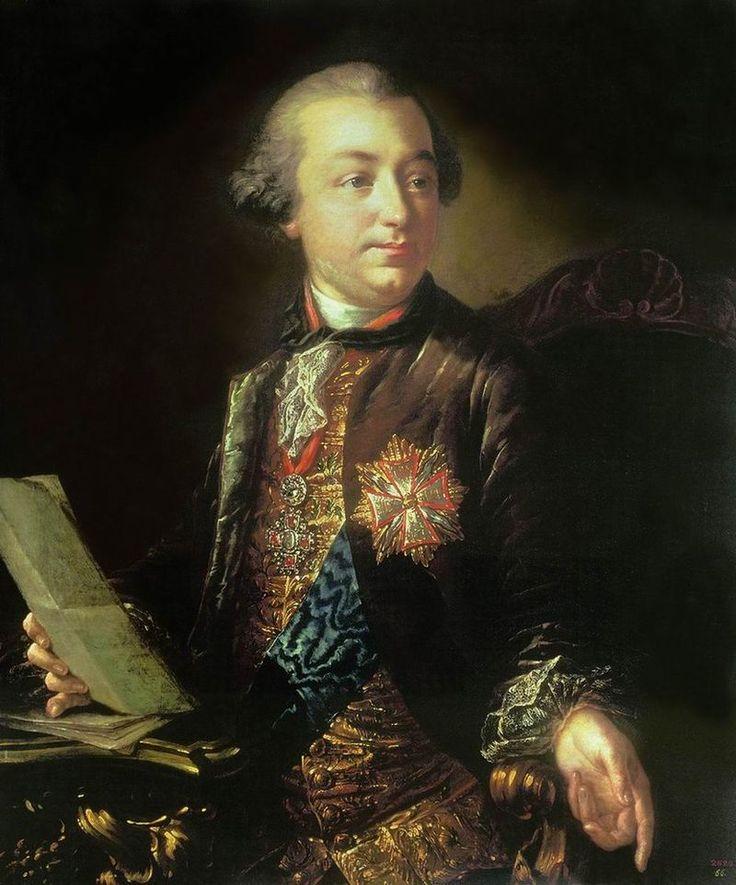 Граф Иван Иванович Шувалов. Антон Лосенко